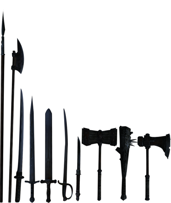 Iron Weapons (Morrowind)