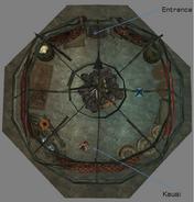Kausi Yurt Interior Map