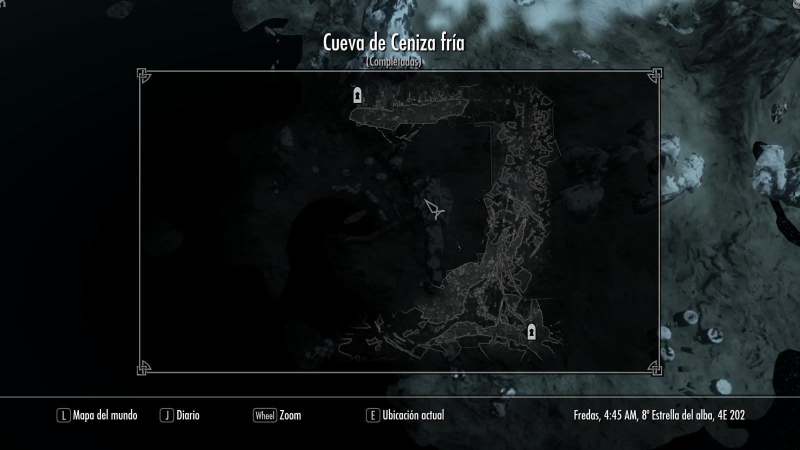 Cueva de Ceniza fría