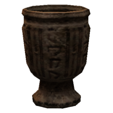 Алебастровая чашка