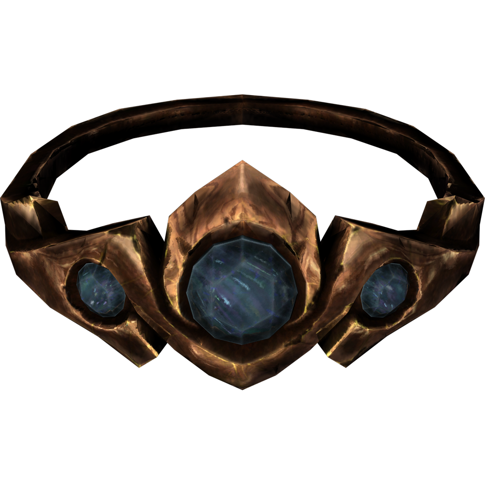 Copper and Sapphire Circlet