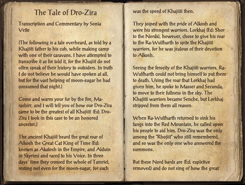 The Tale of Dro-Zira