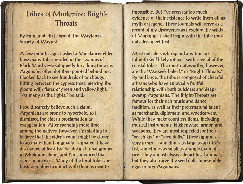 Tribes of Murkmire: Bright-Throats