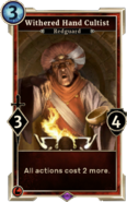 Withered Hand Cultist (Legends) DWD