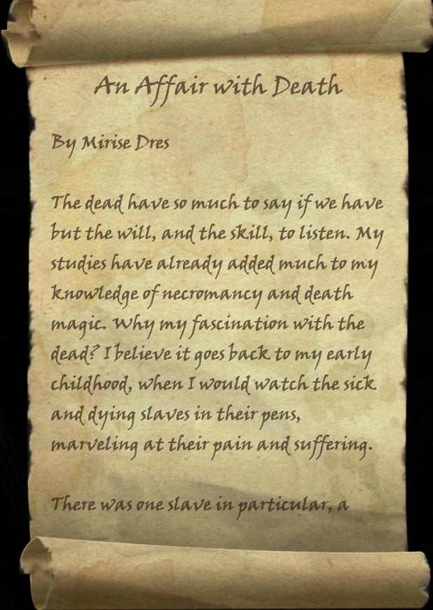 An Affair With Death