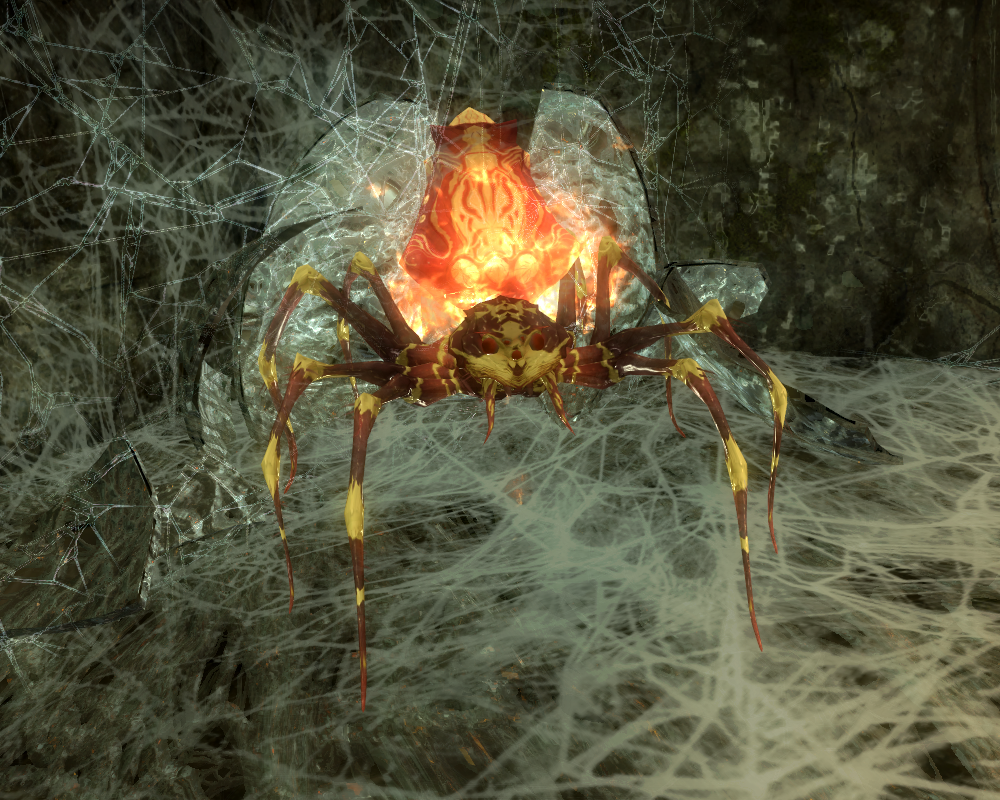 Flame Spider