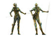 Glass Armor Female