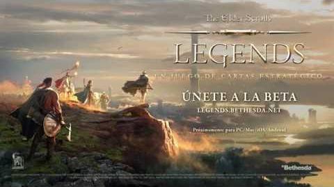 The Elder Scrolls Legends - Vídeo de presentación oficial de la campaña para el E3 de 2016
