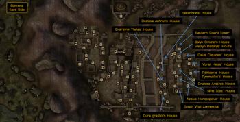 Eastside map