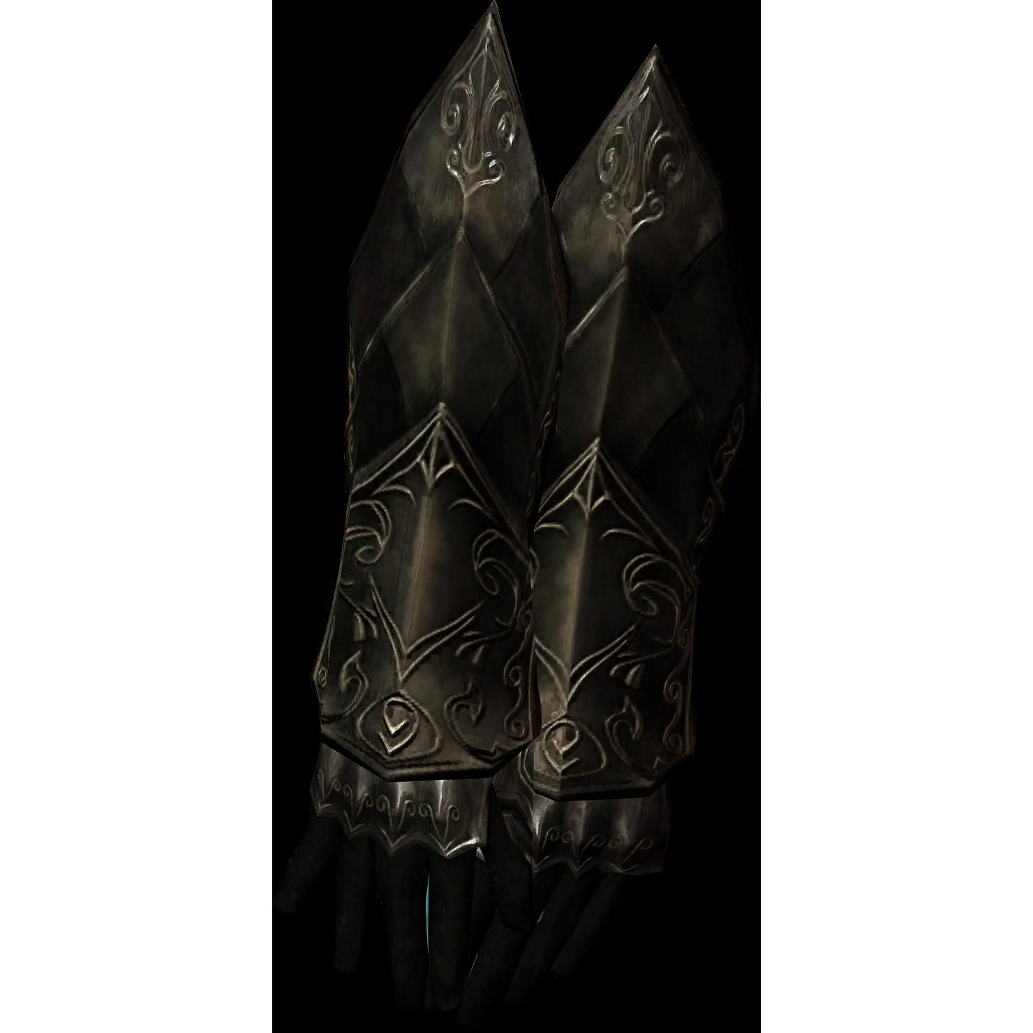 Ebonowe rękawice (Skyrim)