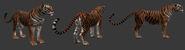 Senche-tiger in-game