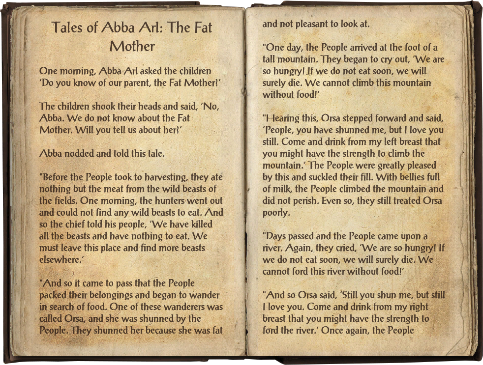 Tales of Abba Arl: The Fat Mother