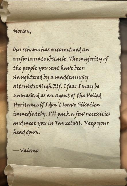 Gilded Letter