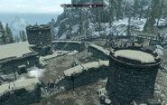 Skyrim location Helgen destroyed