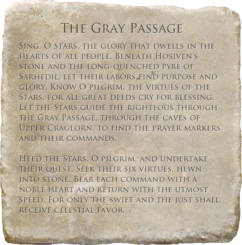 The Gray Passage (Quest)
