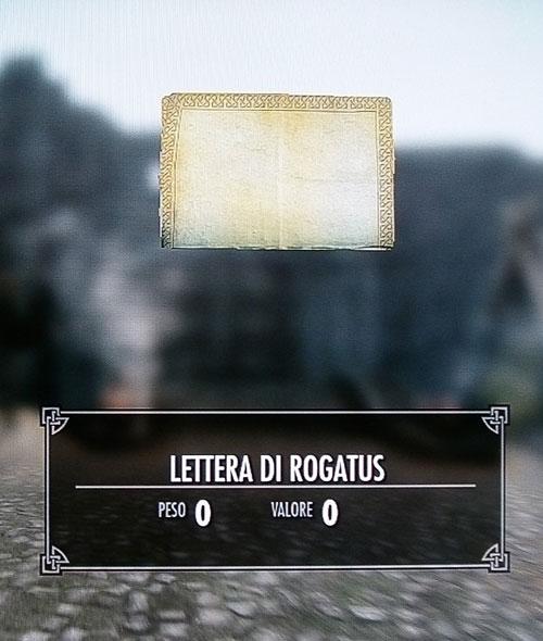 Lettera di Rogatus