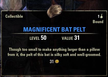 Magnificent Bat Pelt
