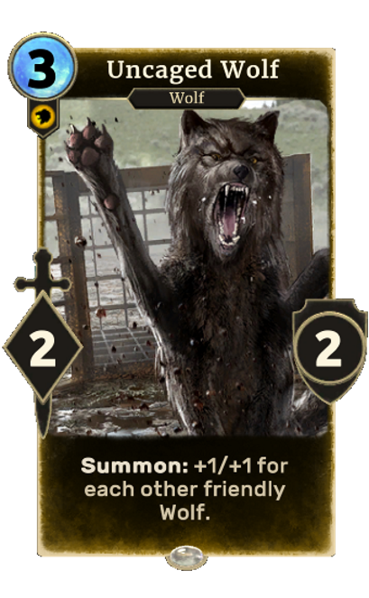 Uncaged Wolf