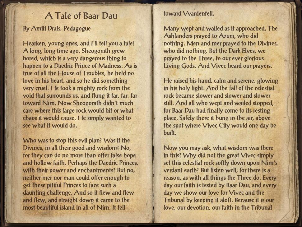 A Tale of Baar Dau