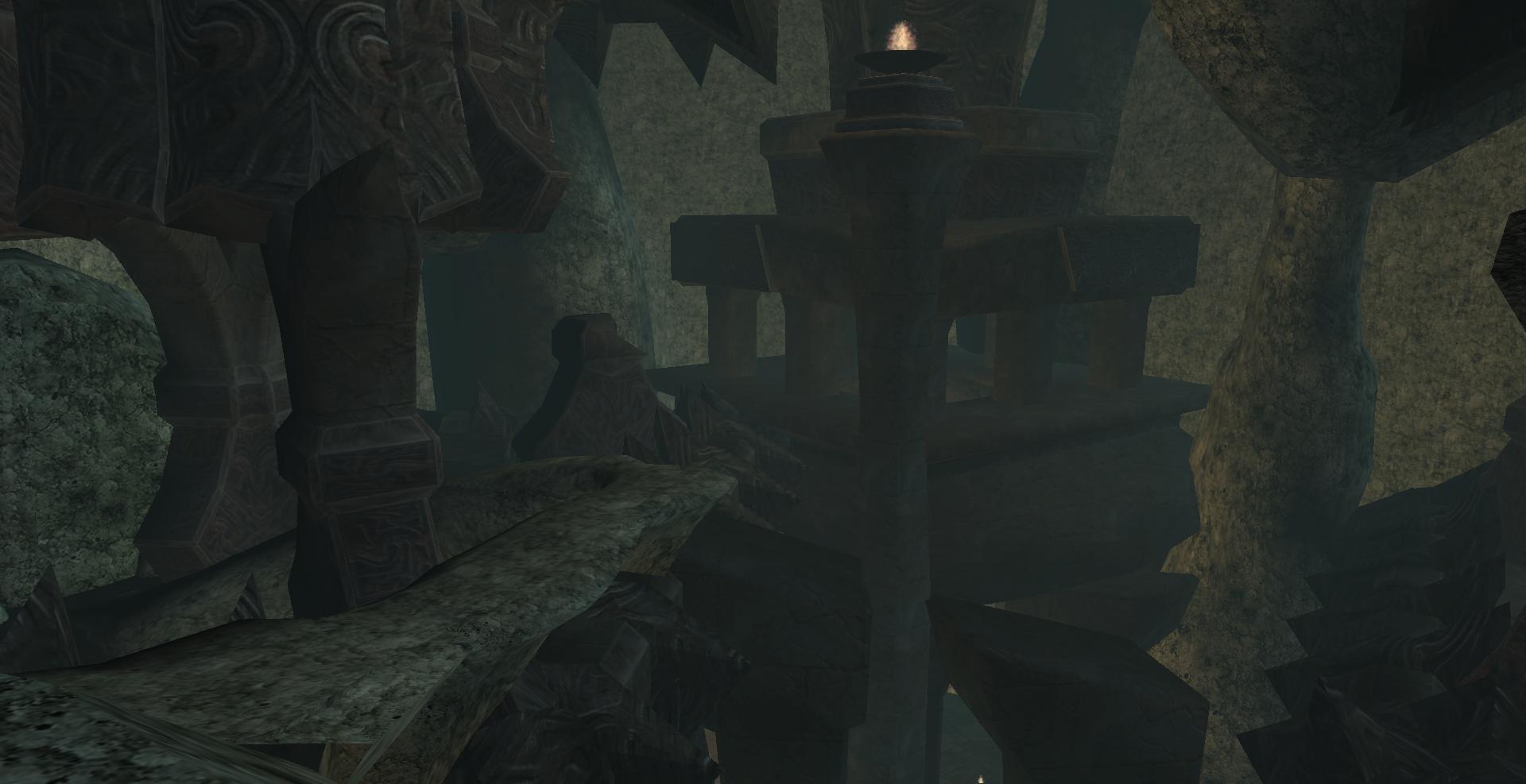 Ashalmawia, Sunken Vaults