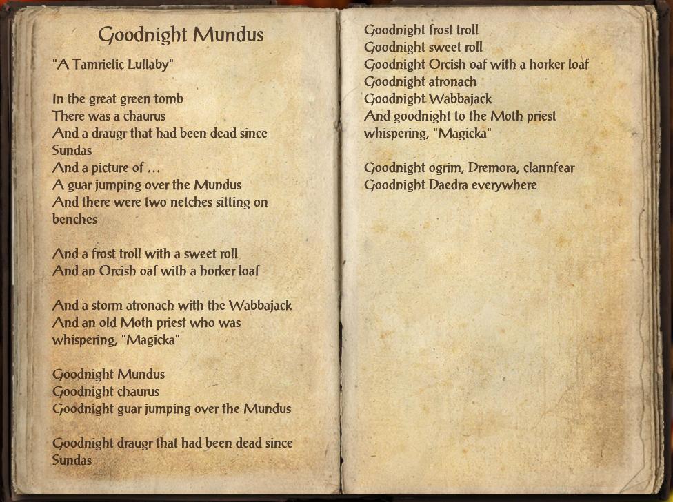 Goodnight Mundus