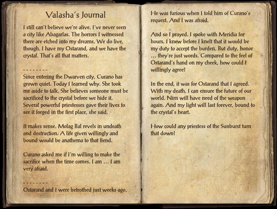 Valasha's Journal