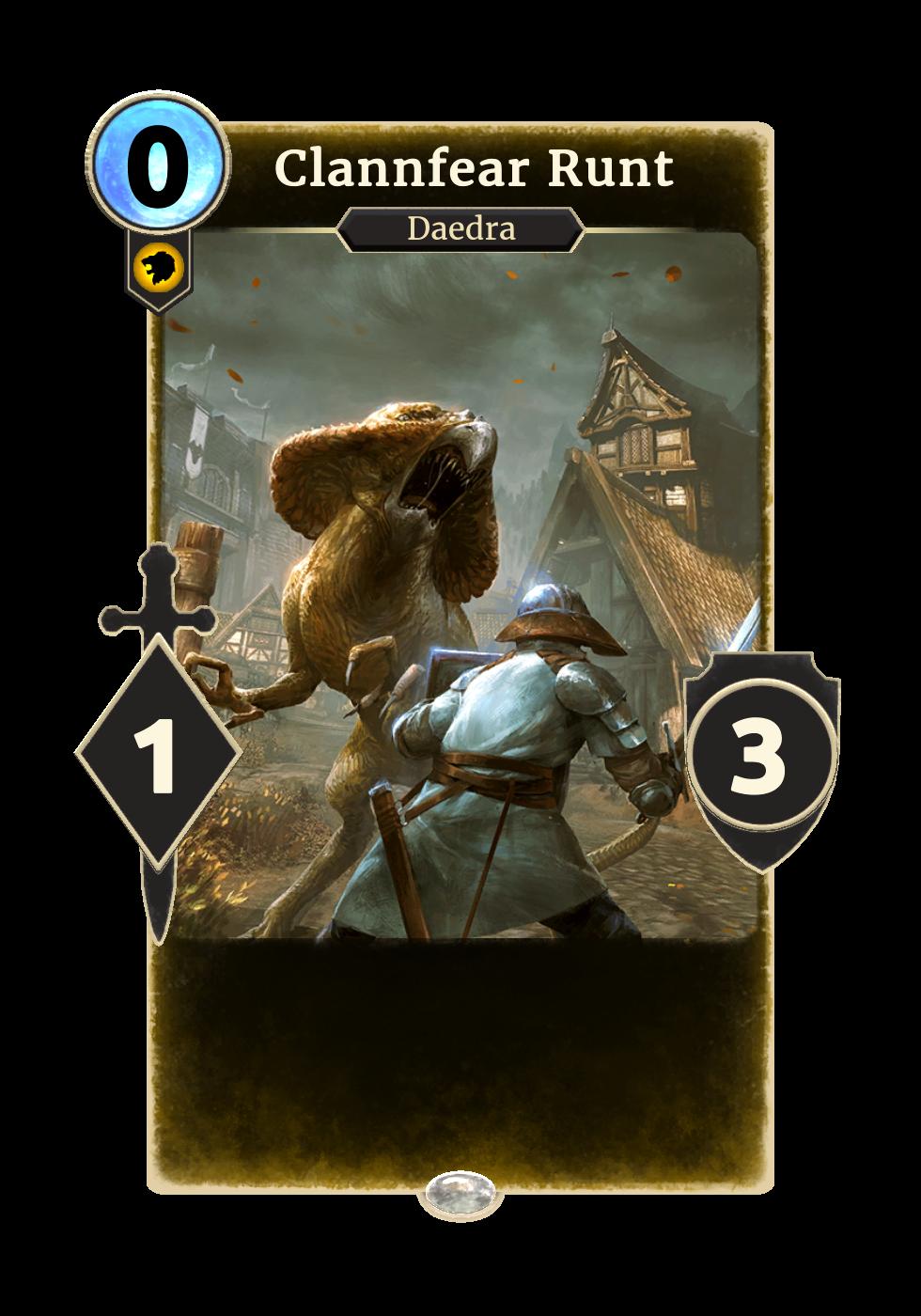Clannfear Runt (Legends)