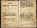 The Wedding Feast: A Memoir
