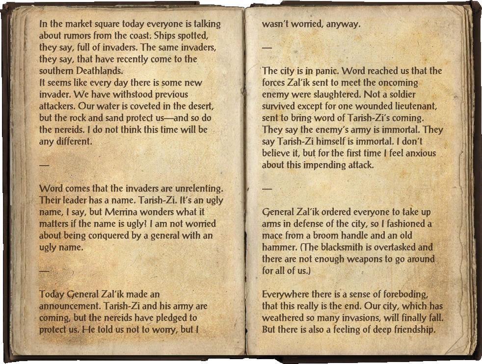 Waterlogged Journal