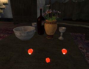 Рубины на столе (Обливион)