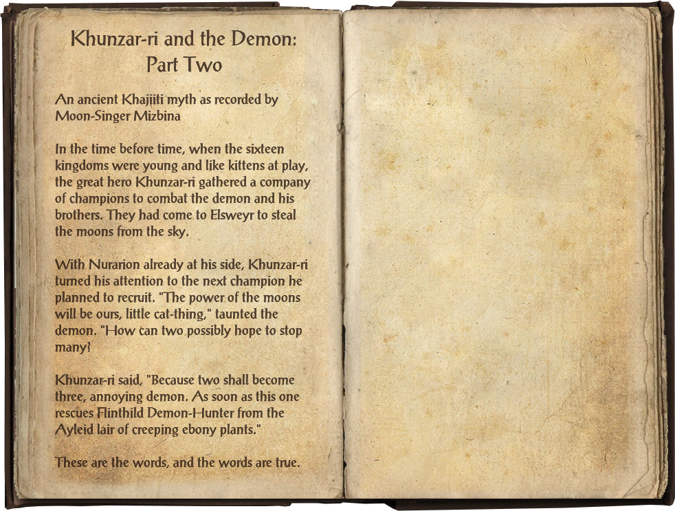 Khunzar-ri and the Demon: Part Two