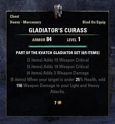 Kvatch Gladiator