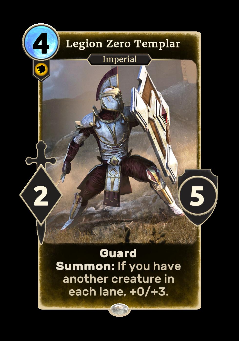 Legion Zero Templar (Legends)