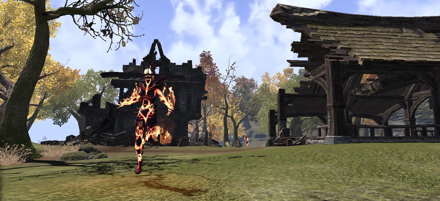 The Burned Estate