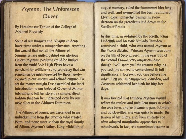 Ayrenn: The Unforeseen Queen