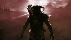 Dovahkiin from Trailer of Dawnguard.png