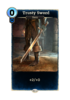 Trusty Sword Card
