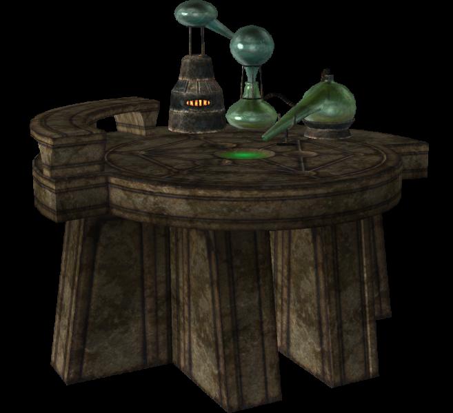 Laboratorio de alquimia (Skyrim)