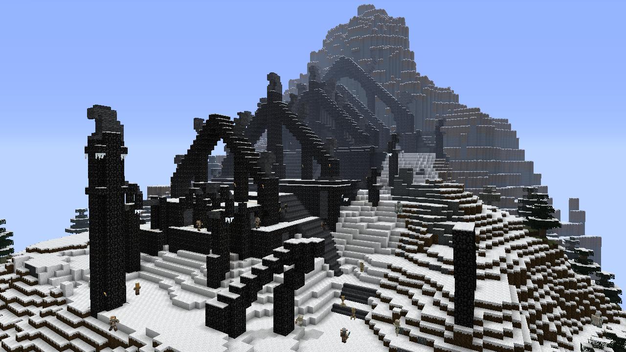 Jimeee/Skyrim mashup comes to Minecraft on Xbox 360