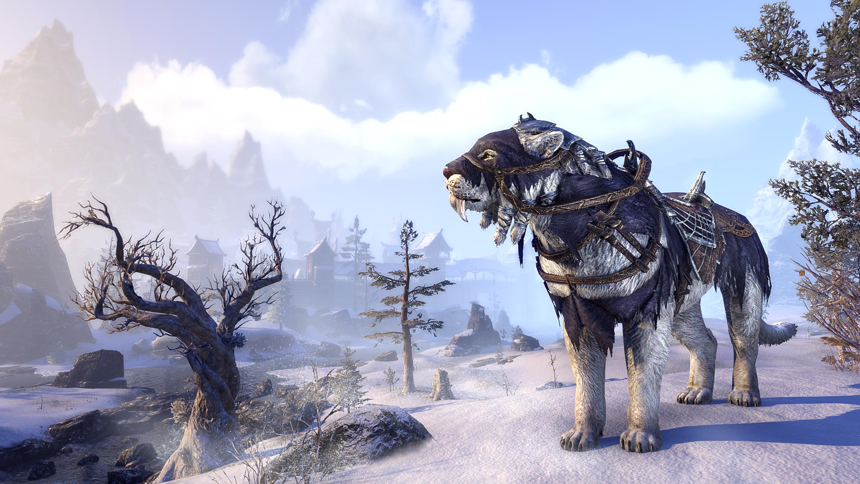 Frostbane Sabre Cat