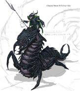 Falmer ujeżdzający Chaurusa 2 (Conceptart) by Adam Adamowicz