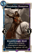 Shornhelm Champion (Legends) DWD