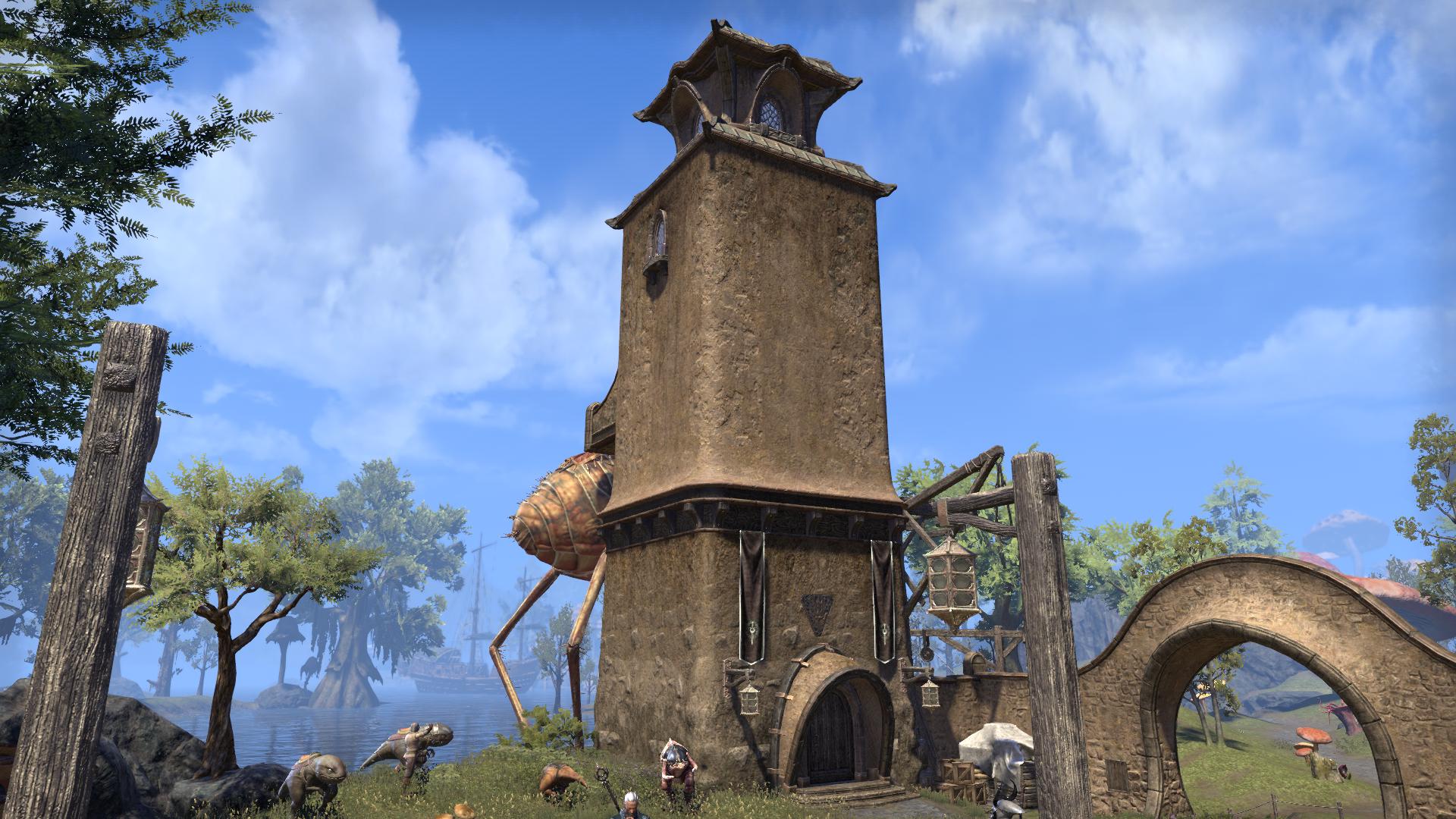 Башня караванщика (Вивек)