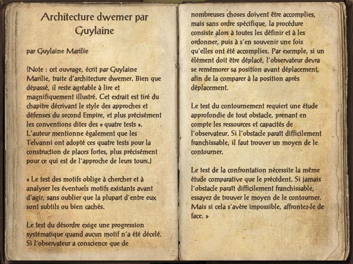 Architecture dwemer par Guylaine