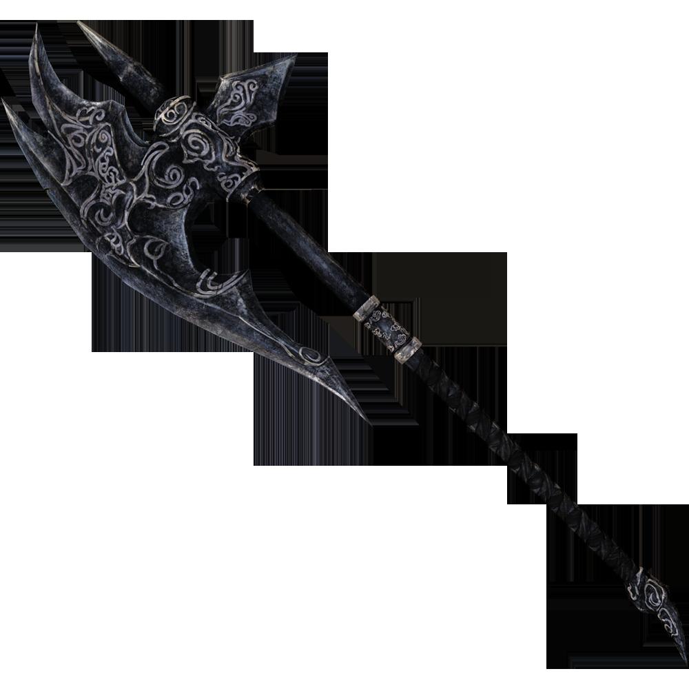 Hacha de combate de ébano (Skyrim)