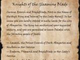 Knights of the Gleaming Blade