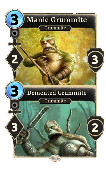 Manic Grummite – Demented Grummite