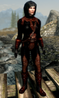 Shrouded Armor - Female Maskless (Skyrim)