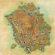 Silt Strider VVardenfell travel map online