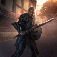 Tavyar the Knight card art